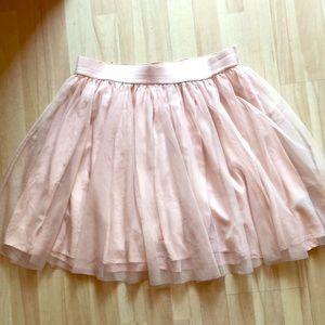 Torrid Pink Ballet Tulle Mini Skirt Sz 1 Plus
